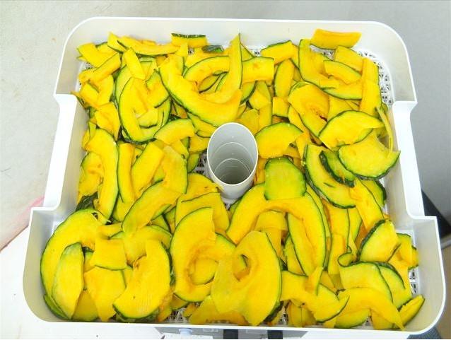 干し野菜作り カボチャ