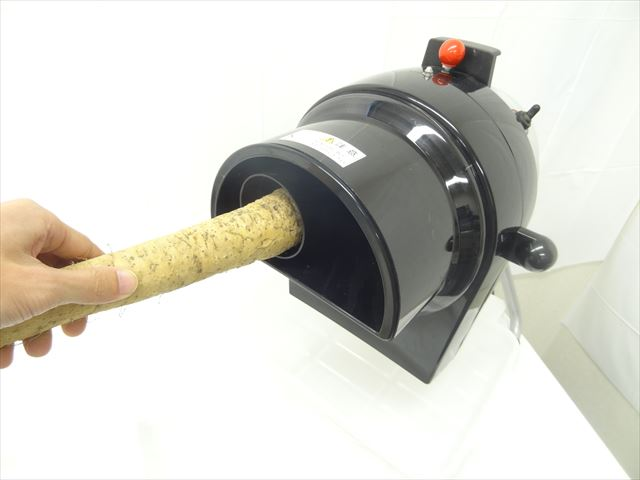 自然薯のスライス